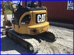 2009 Caterpillar 303CCR Hydraulic Mini Excavator