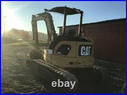 2009 Caterpillar 304C CR Hydraulic Mini Excavator with 3rd Valve & Blade Clean