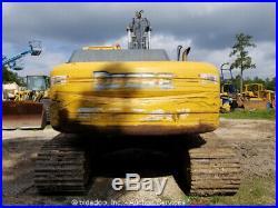 2009 John Deere 270DLC Track Excavator A/C 50 Bucket Aux Hydraulics Repair