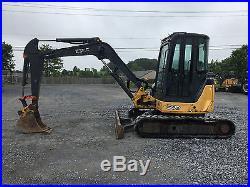 2009 John Deere 50D Mini Excavator withCab