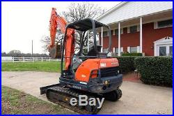 2009 Kubota KX71-3 Excavator with only 829 Hrs NICE Machine