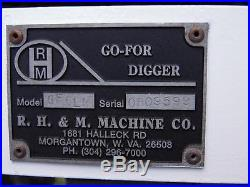 2009 Rhm Gf6lm Go-for Digger Towable Backhoe