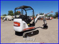 2010 Bobcat 323J Mini Excavator Hydraulic Thumb Extendable Tracks Aux bidadoo