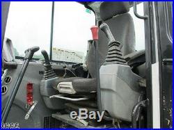2010 Bobcat E80 Hydraulic Excavator, Cab, Air, Heat, Blade, Very Good Tracks