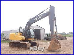 2010 John Deere 160D LC Excavator 2934 HRS Excellent