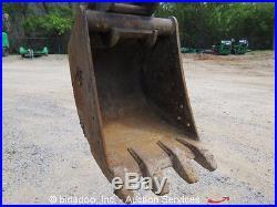 2010 John Deere 27D Mini Excavator Rubber Tracks Aux Hyd Backhoe bidadoo