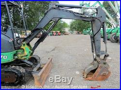 2010 John Deere 27D Mini Excavator Rubber Tracks Hydraulic Thumb AUX bidadoo