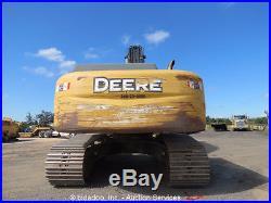 2010 John Deere 350D LC Hydraulic Excavator AC Cab Aux Hyd Auto Lube bidadoo