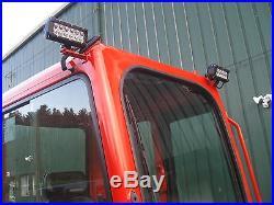 2010 Kubota Kx91-3s2 Mini Excavator, Thumb, Angle Blade, Bucket, Cab, Heat, Clean