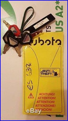 2010 Kubota U17-3 Alpha 1.7 Ton Mini Digger