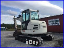 2010 Terex TC60 Hydraulic Mini Excavator with Cab