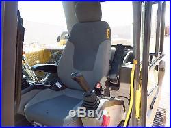 2010 VOLVO EC140CL HYDRAULIC EXCAVATOR CAB A/C 1690 HOURS CAT AUX HYD DFW TEXAS