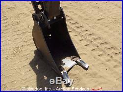 2010 Volvo EC20C Mini Hydraulic Excavator Dozer Blade Aux Hyd bidadoo