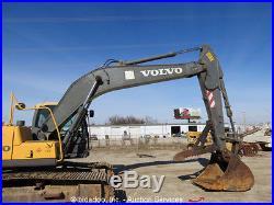 2010 Volvo EC210CL Excavator 165 HP Volvo Diesel Cab Heat and A/C Thumb bidadoo