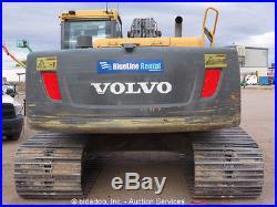 2010 Volvo EC210CL Hydaulic Excavator A/C Cab Aux Hyd 48 Bucket bidadoo