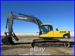 2010 Volvo EC240CL Hydraulic Excavator Heat A/C Cab Aux Hyd Diesel Thumb bidadoo