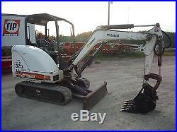 2011 BOBCAT 325G MINI-EXCAVATOR With1400HRS! WithKUBOTA DIESEL