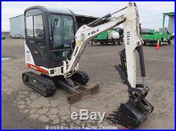 2011 Bobcat 324M Mini Excavator Hydraulic Thumb Heated Cab 2-Spd Kubota bidadoo