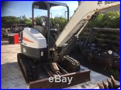 2011 Bobcat E35 Mini Excavator