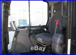 2011 Bobcat E80 Hydraulic Excavator, Full Cab, Air, Heat, Blade