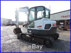 2011 Bobcat E80 Mini Excavator Caterpillar Diesel Engine Good Condition