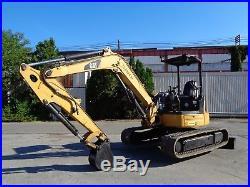 2011 Caterpillar 305.5DCR Mini Excavator Aux. Hydraulics Rubber Tracks