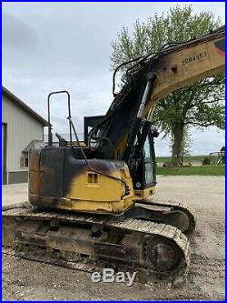 2011 Caterpillar 314d Excavator Hoe Hydraulic Thumb Needs Work Fire. Iowa