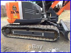 2011 Hitachi ZX85USB-3 Excavator