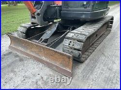 2011 Hitachi Zx85 Usb MIDI Excavator John Deere 85d 2 Speed Ac Cab Pads