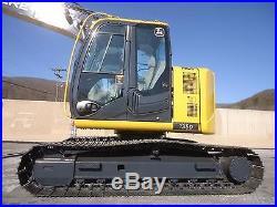 2011 John Deere 135d Excavator Plumbed Auxillary Hydraulics Thumb Available