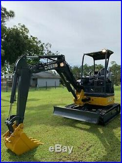 2011 JOHN DEERE 27D Hydraulic Excavator with Only 1592 Hours
