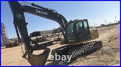 2011 John Deere 120 D Crawler Excavator With Bucket Only 3200 Hours