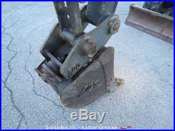 2011 John Deere 27D Mini Excavator Heated Cab A/C Rubber Tracks Backhoe bidadoo