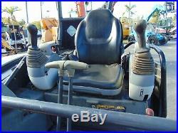2011 John Deere 27-d Mini Excavator 6,500 Lbs Pilot Controls 2 Speed