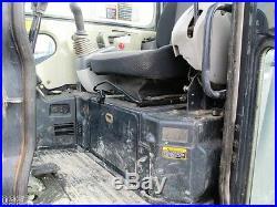 2011 John Deere 60D Hydraulic Excavator, Full Cab, Air, Heat, 2075 Hours