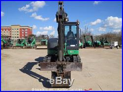 2011 John Deere 60D Midi Hydraulic Excavator A/C Cab Aux Hyd Blade bidadoo