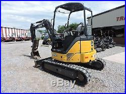 2011 John Deere Mini 35d Excavator Caterpillar Orops Hydraulic Thumb