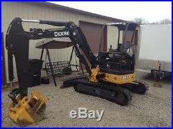 2011 John Deere mini excavator