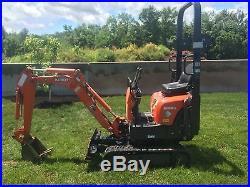 2011 Kubota K008-3 Mini Excavator Excavator