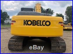 2011 Kobelco SK210-8E Crawler Excavator Hydraulic Thumb Diesel Cab AC Track
