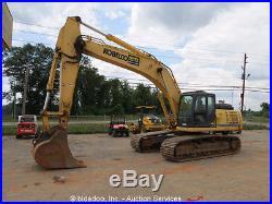 2011 Kobelco SK350LC Mark 9 Hydraulic Excavator Tractor A/C Cab Aux Hyd bidadoo
