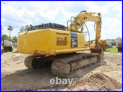 2011 Komatsu PC360LC-10 Hydraulic Excavator Cab Aux Hyd Trackhoe bidadoo