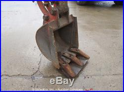 2011 Kubota K008-3 Mini Excavator Rubber Tracks Backhoe Extendable Tracks