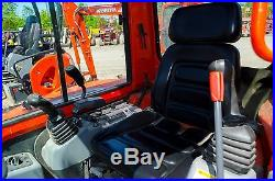 2011 Kubota KX121 Excavator, with heated Cab, A/C, & Angle Blade