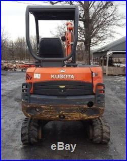 2011 Kubota KX91-3 S2 Mini Excavator