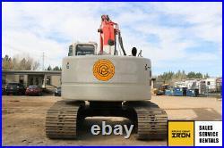 2011 Link-belt 225 Spin Ace Excavator 5800hrs Tier 3 Q/c Tier 3 Long Arm Isuzu