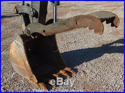 2011 Volvo ECR88 Midi Excavator A/C Cab Hydraulic Thumb Aux Mini bidadoo