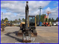 2011 Volvo ECR88 Mini Hydraulic Excavator A/C Cab Aux Hyd Dozer Blade bidadoo