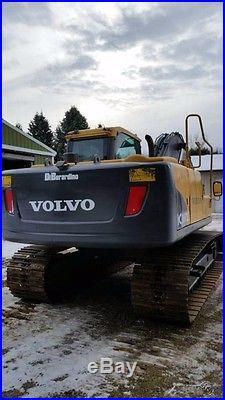 2011 Volvo Hydraulic Excavator EC 160CL Used, Max Dig Depth 21' 2