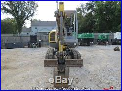 2011 Wacker 28Z3RD Hydraulic Mini Excavator Blade VDS Yanmar Diesel bidadoo